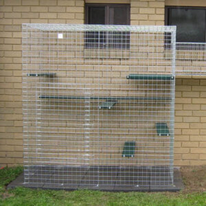 Climber galvanised - Catnip Australia Cat Enclosures