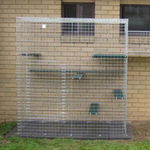 Climber galvanised - Catnip Australia Cat Enclosures