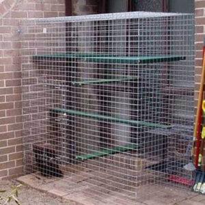 Climber on deck - Catnip Australia Cat Enclosures