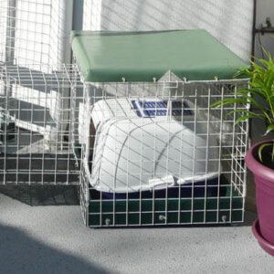 Toilet PC White - Catnip Australia Cat Enclosures