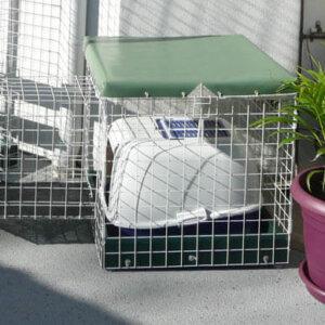 Toilet PC White - Catnip Australia Cat Enclosures